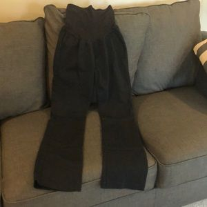 Motherhood Maternity Long Black Pants